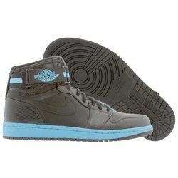 pretty nice 1f17e 15129 ... germany men nike air jordan 1 high strap premier black orion blue shoes  08214 07ede
