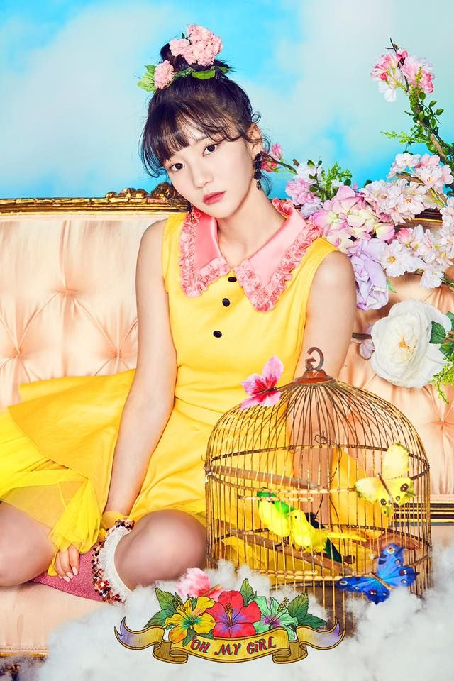 Coloring Book Oh My Girl Oh My Girl Kpop Members Oh My Girl 2017 Comeback Oh My Girl 4th Mini Album Oh My Girl Photoshoot 2017 Oh My Girl Comebac Lirik Lagu