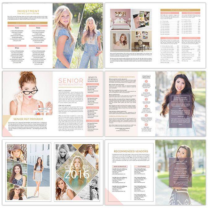 Magazine Template Photoshop: Photography Magazine Template