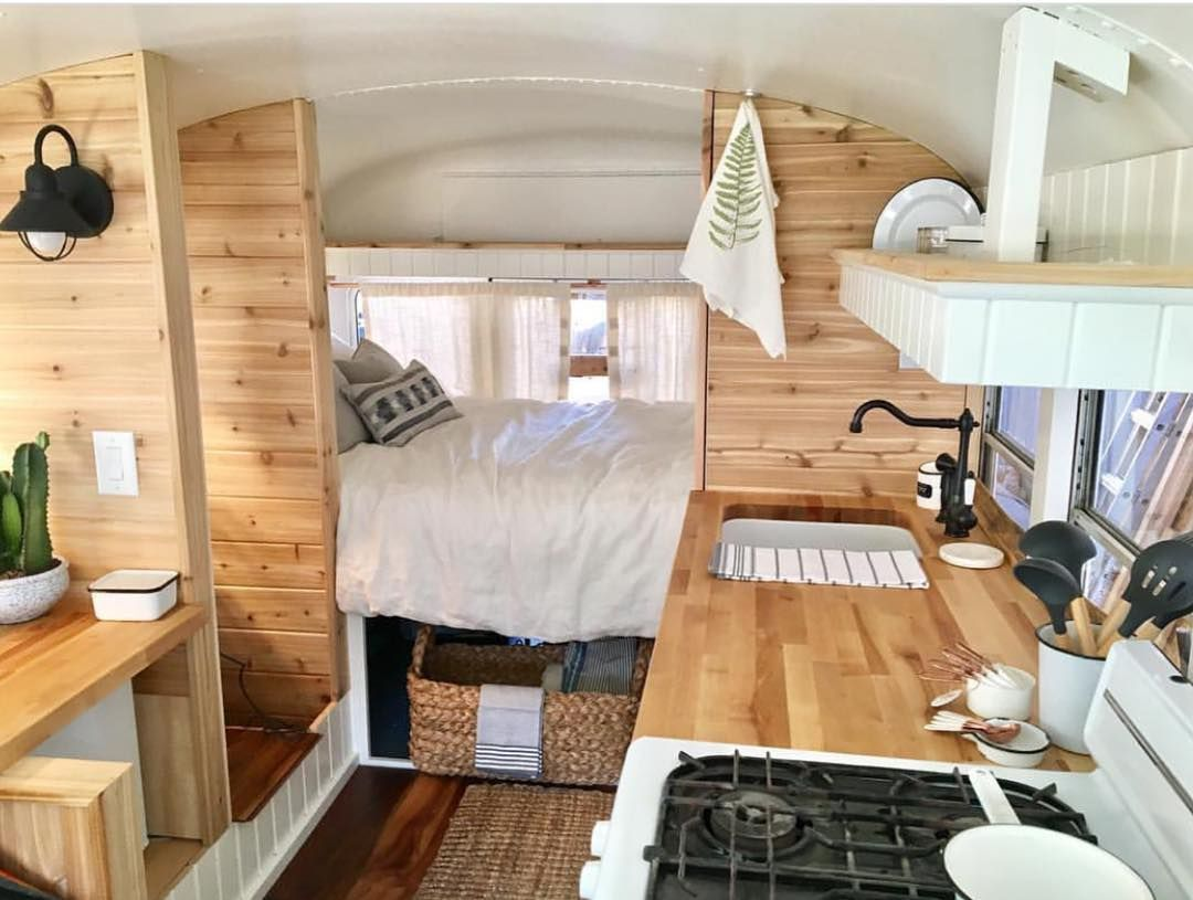 pin by nathan downs on tiny living bus conversion school bus rh pinterest com Car Bed bed bugs home treatment