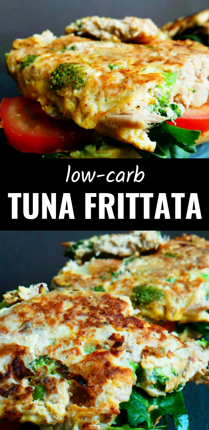 High Protein Recipe: Quick Tuna Omelette Sandwiches #proteinlunch