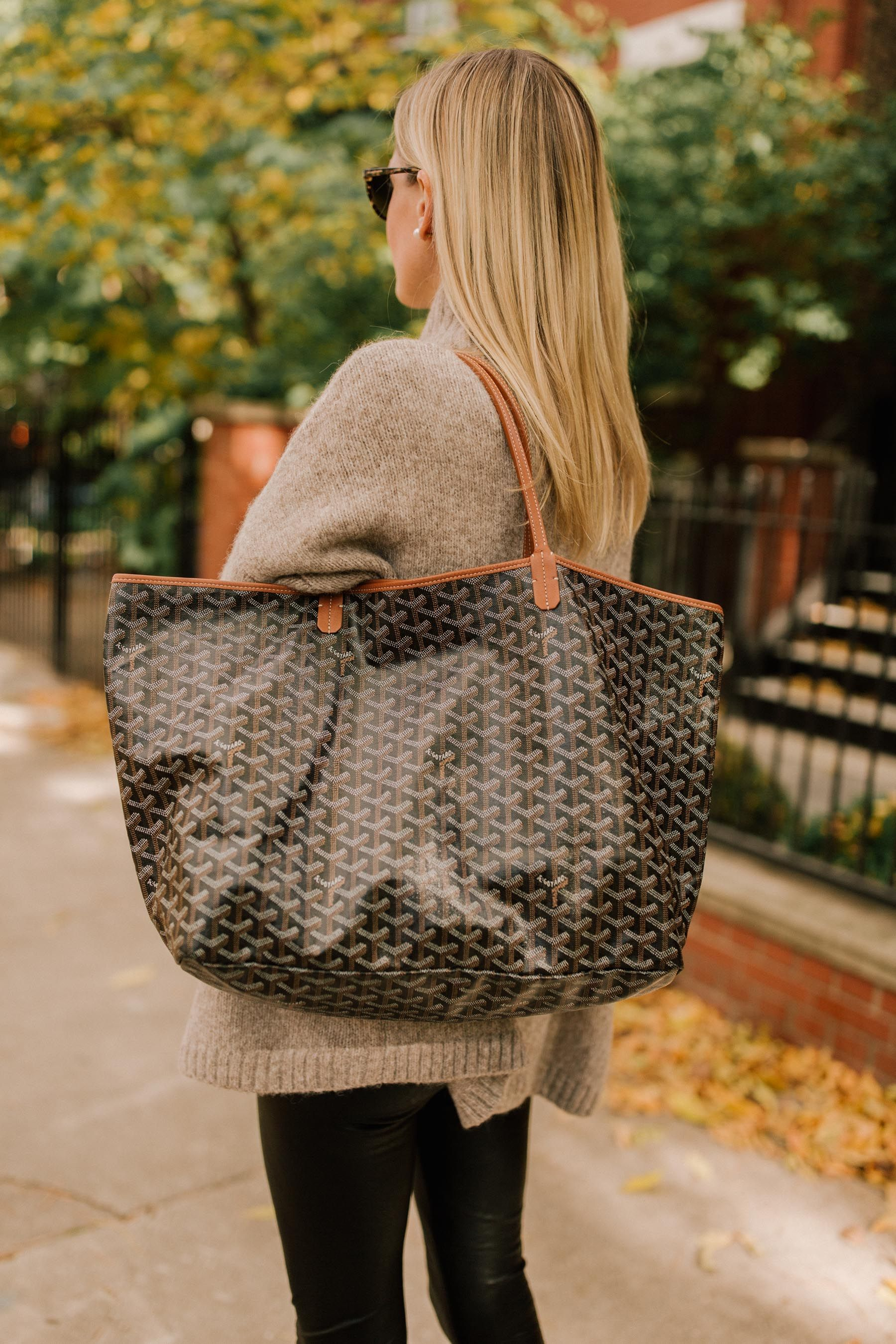 1be180546c7 20 Awesome Sweaters for Fall plus this Goyard Tote. It s cooling down so I  need
