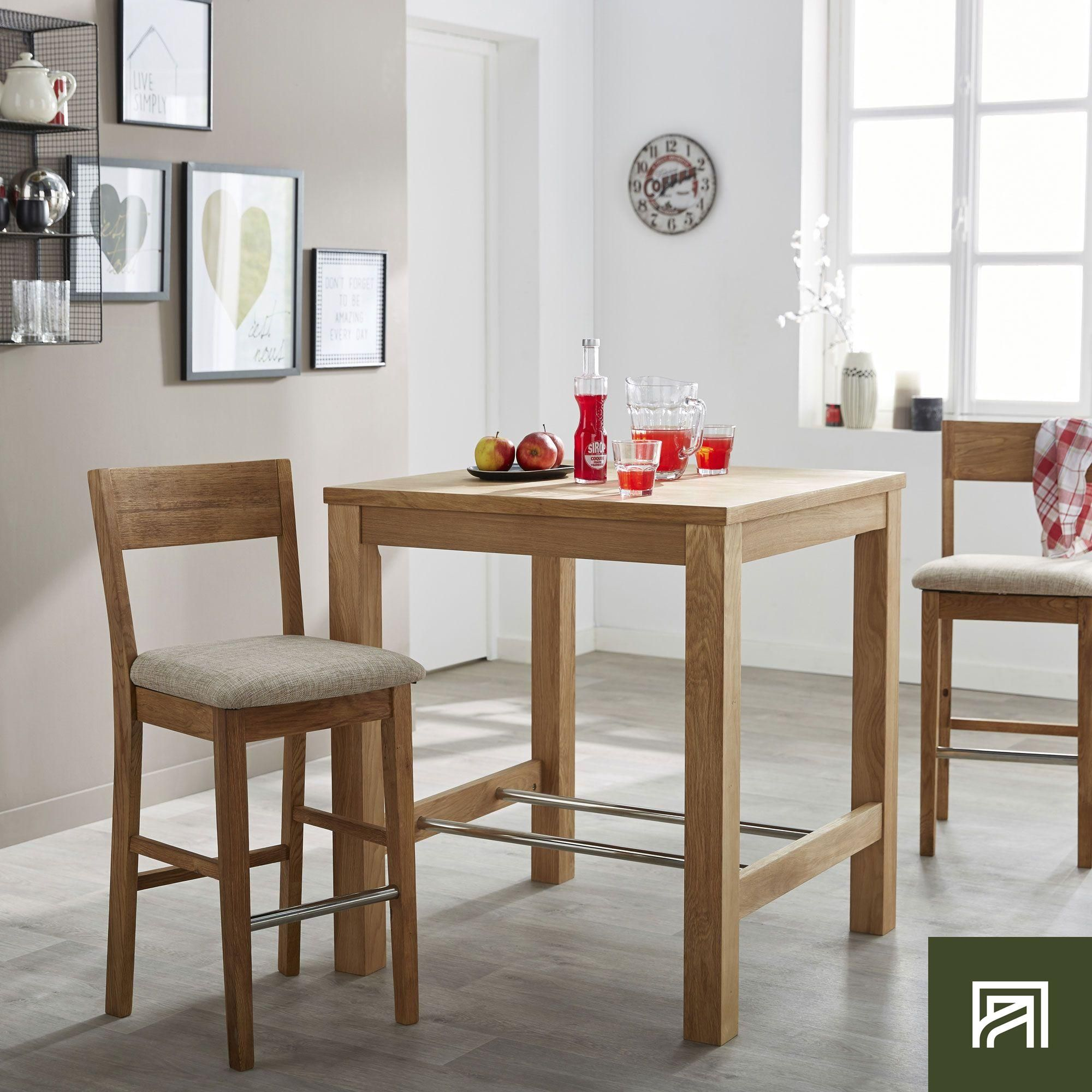 Alinea Bonnie Table De Repas Haute Carree 80x80cm Bar Alinea Decoration Table Inspiration Meubles E Table Repas Table Basse Rangement Salle A Manger