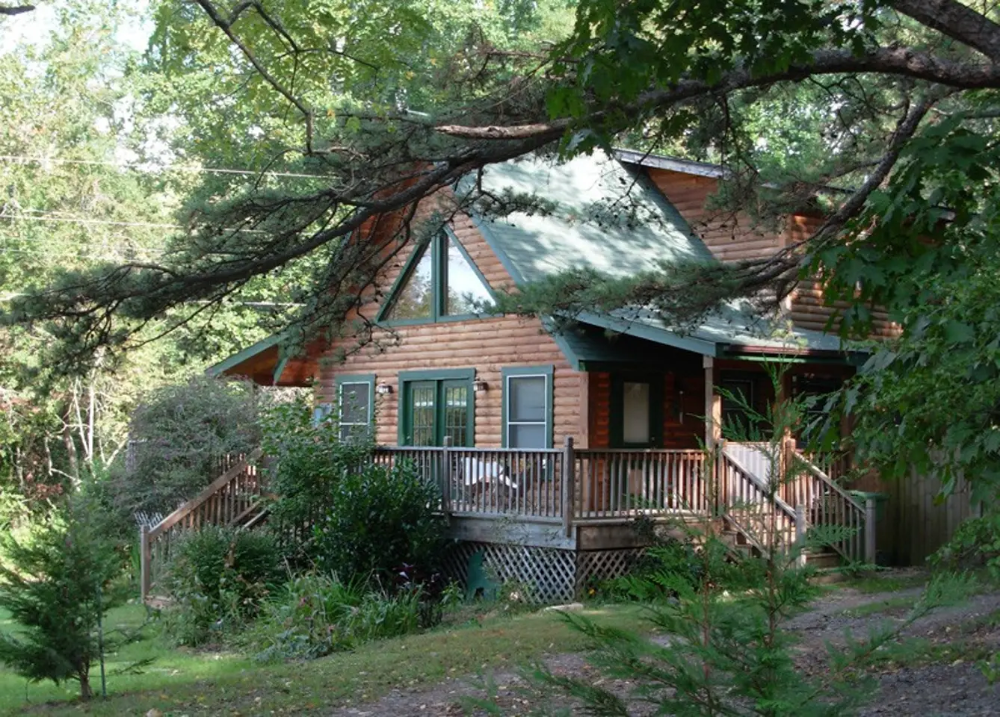Tenessee Pet Friendly Log Cabin with Hot Tub & Fireplace