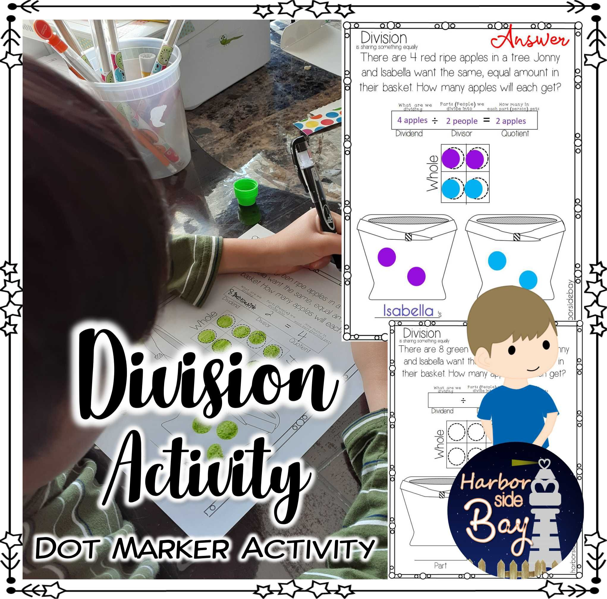 Do A Dot Makers Division Activity In