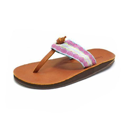 3548be572ff43f Feelgoodz Women s Islands Natural Rubber and Leather Flip-Flop (W10 ...