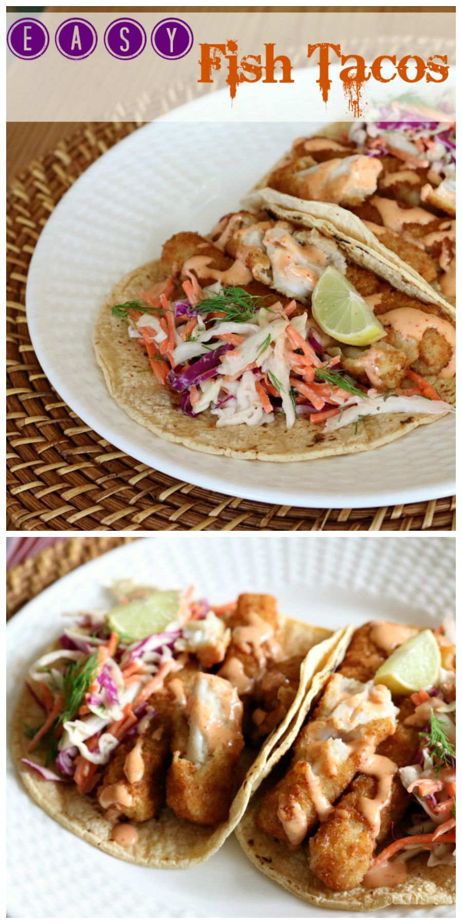 These fish tacos are delicious and perfect for Taco Tuesday!   Get the Recipe at CeceliasGoodStuff.com | Good Food for Good People