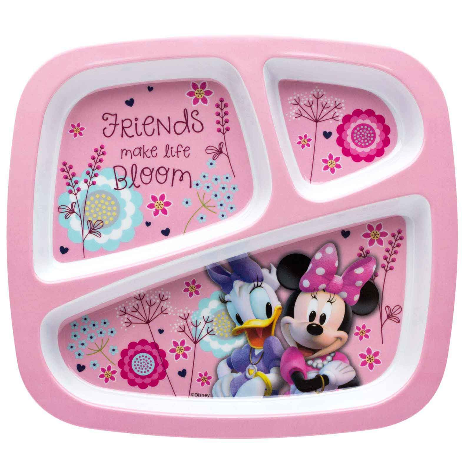 Shop Zak.com for a great mix of Minnie Mouse products BPA free Divided Plates and more! Free shipping on orders over $50!  sc 1 st  Pinterest & Minnie Mouse Divided Plate for Kids - Minnie \u0026 Daisy Duck   Divided ...