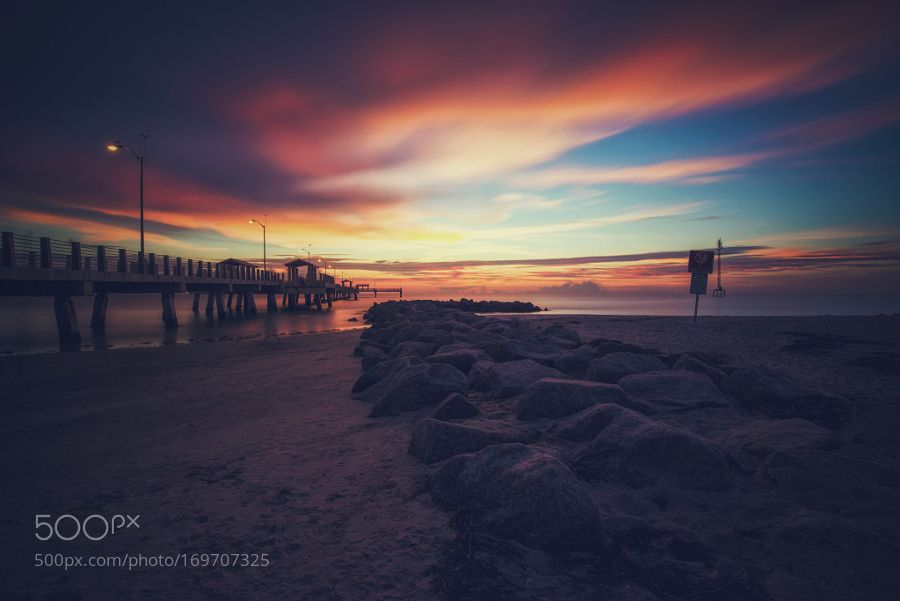 Fort De Soto Sunset by piXel_cHop_sUey. Please Like http://fb.me/go4photos and Follow @go4fotos Thank You. :-)