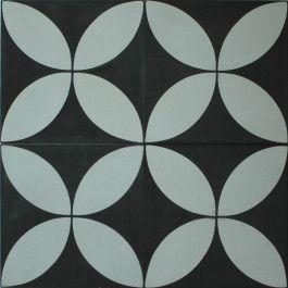 Encaustic Cement Tile - A118