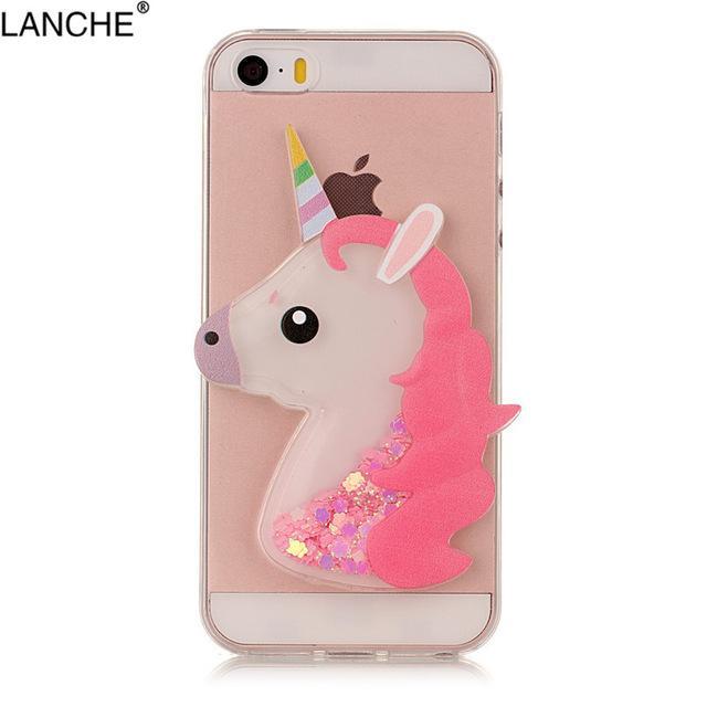 iPhone 5 5s SE 5C Case Soft Glitter