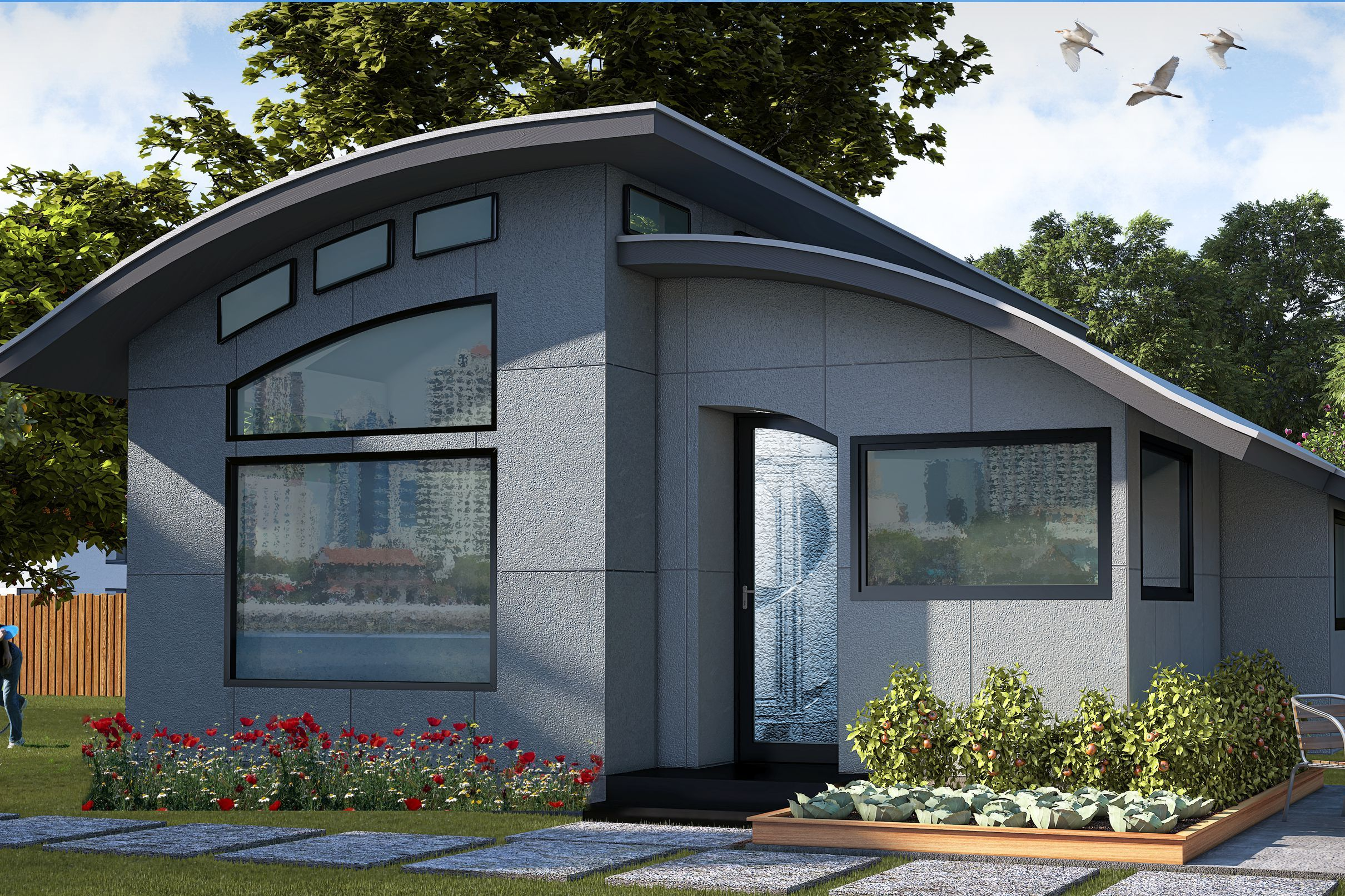 Small Affordable Homes on a budget