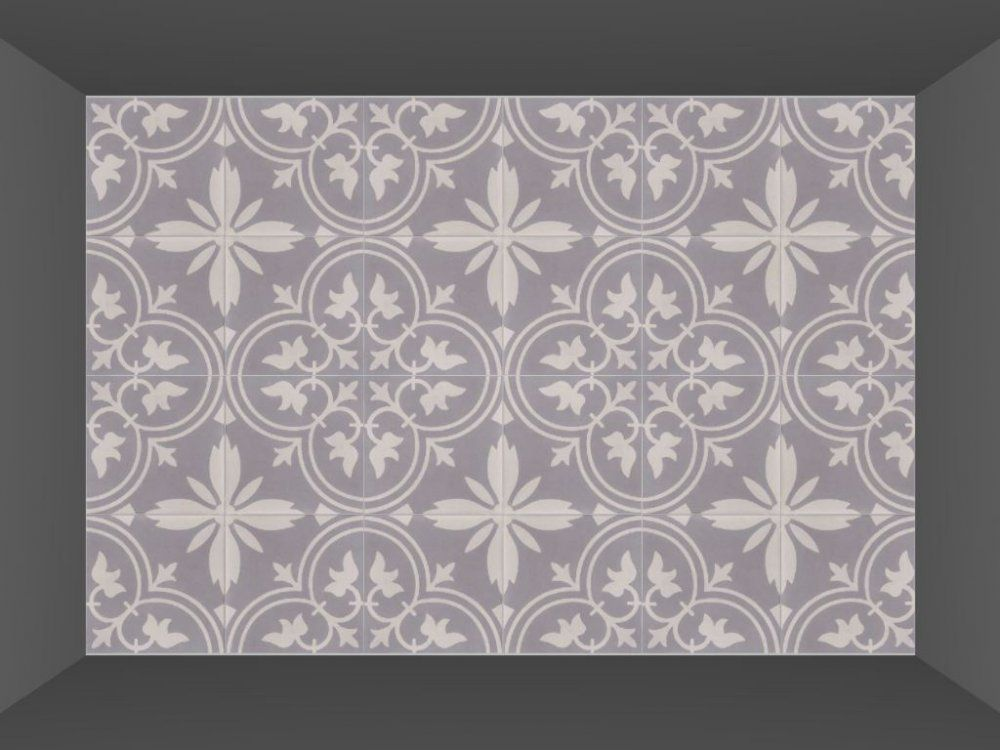 FLOORZ Portugese cementtegels serie FLORENCE FLOWER 02