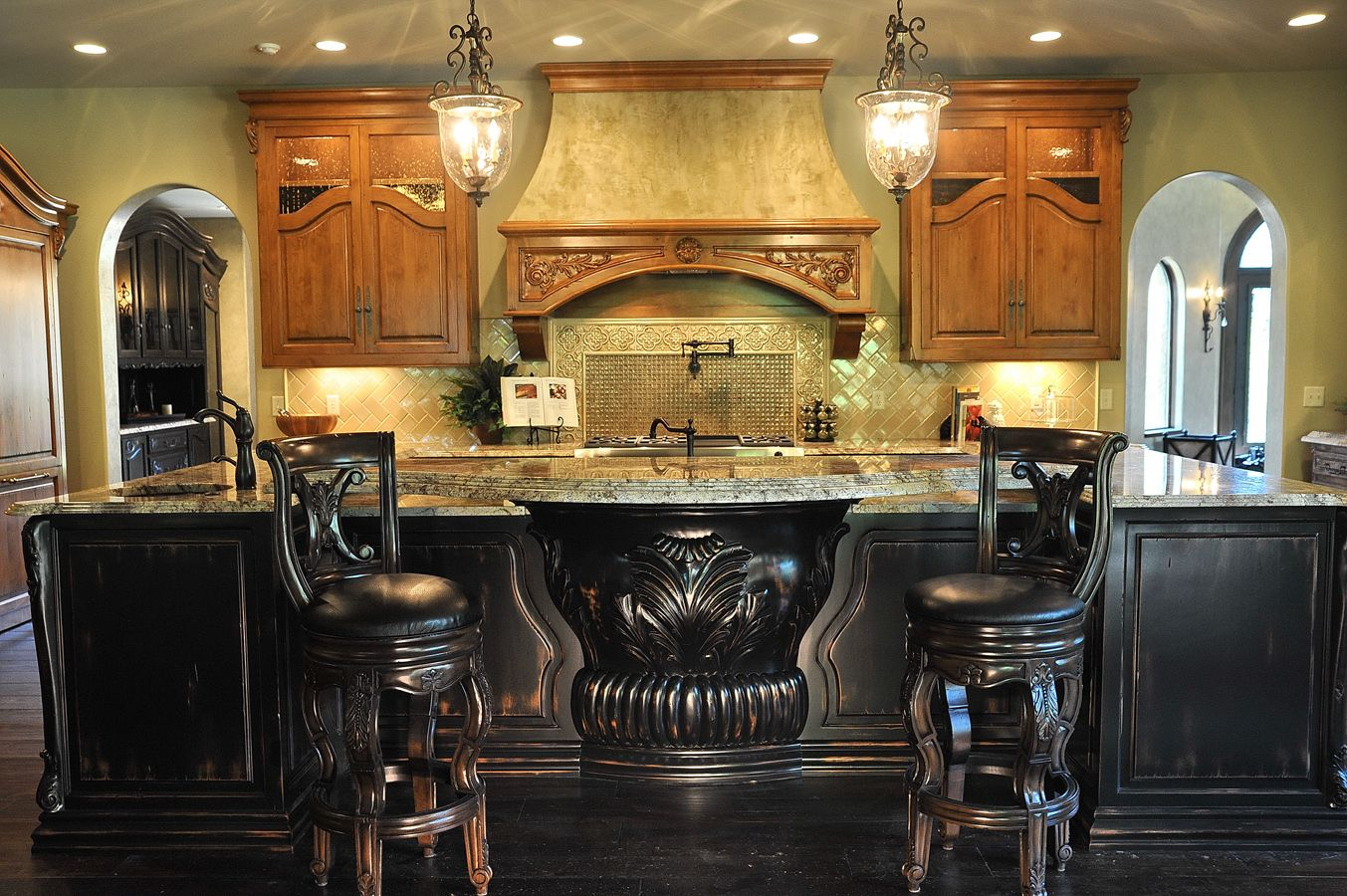 2011 Indianapolis Monthly Dream Home Kitchen by Chateau