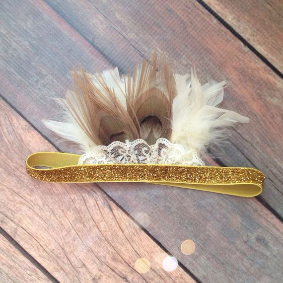 Grecian Feather Crown