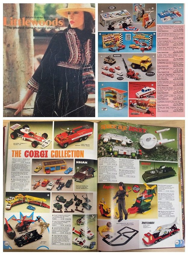 Going Through The Toy Section Of The Littlewoods Catalogue