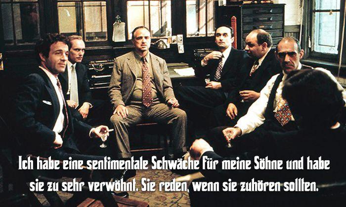 Der Pate Zitate Besten Spruche Der Corleone Familie Godfather The Godfather Movies Und Godfather