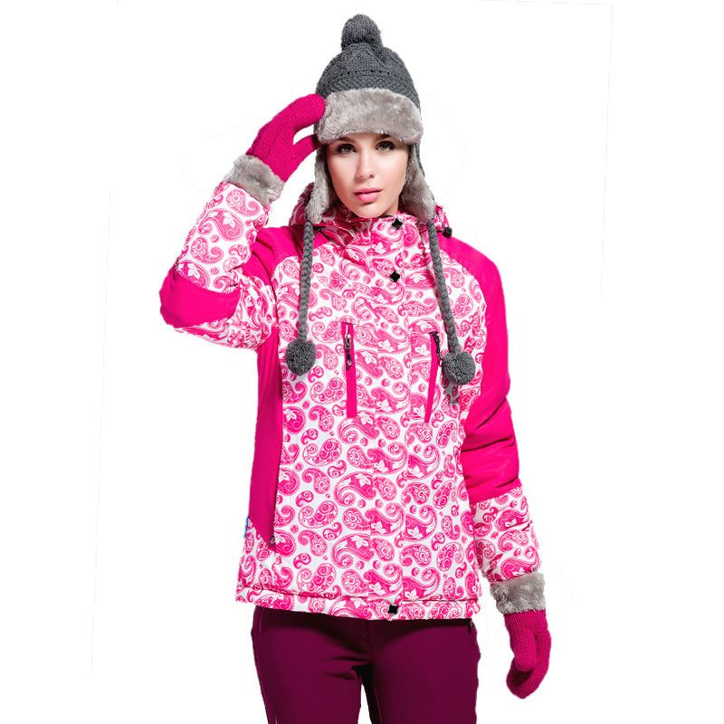 Winter outdoor jacket women wind section thicker warm ...