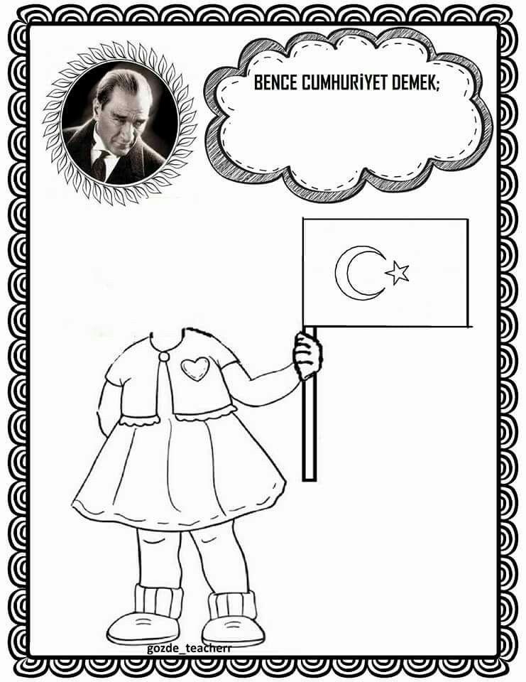 Serap Zor Adli Kullanicinin Ataturk Panosundaki Pin Boyama