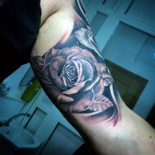 100 Inner Bicep Tattoo Designs For Men Manly Ink Ideas Tatuaze