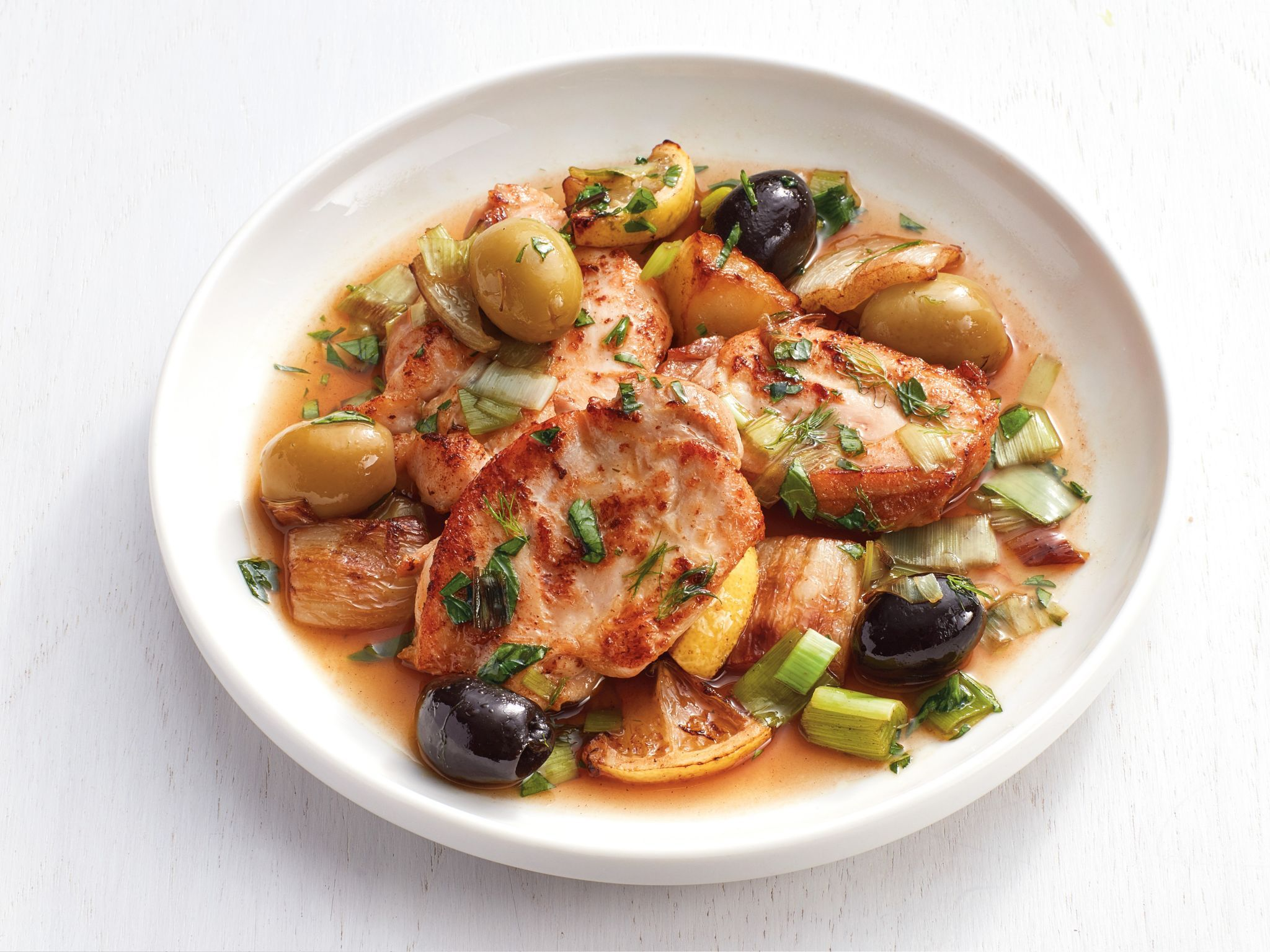 Chicken thighs with olives and fennel receta forumfinder Choice Image