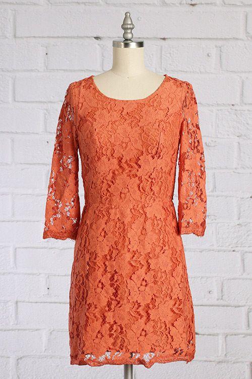 19++ Burnt orange lace dress ideas