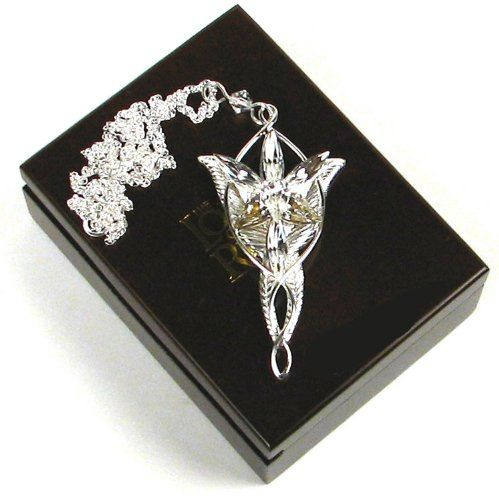 c38b564ff70 Arwen Evenstar Sterling Silver Pendant. Lord of the Rings Noble ...