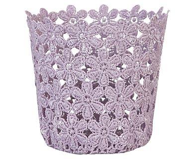 Корзина - пластик - лиловый, Ø 11 x 10 см