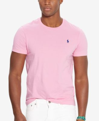 Polo Ralph Lauren Men's Custom-Fit Crew Neck T-Shirt