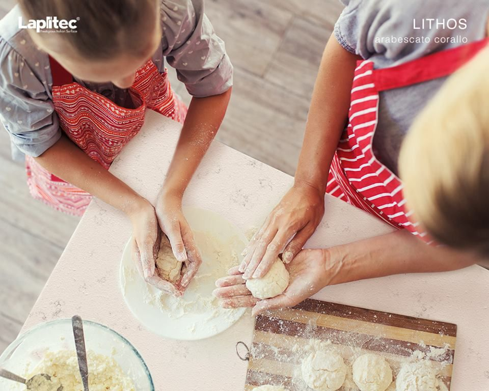 Surfaces that are perfect for any kitchen activity.