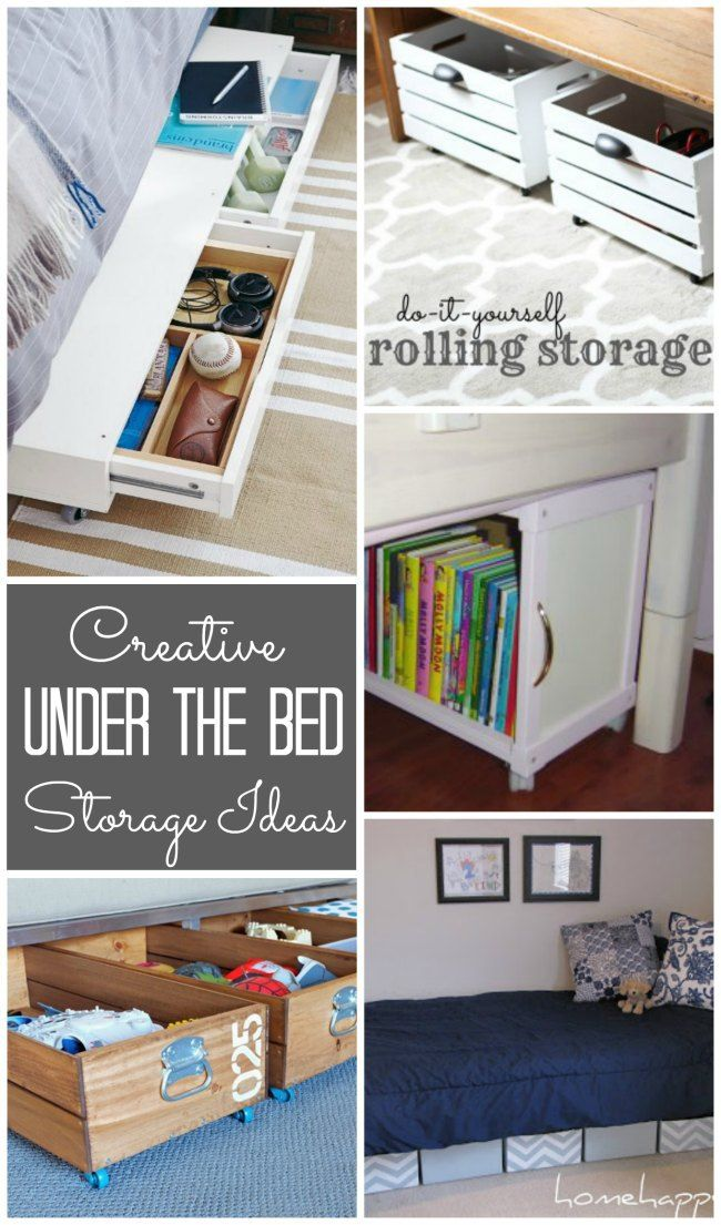 Underbed Storage Ideas Design Dazzle Under Bed Storage Diy Storage Boxes Diy Storage