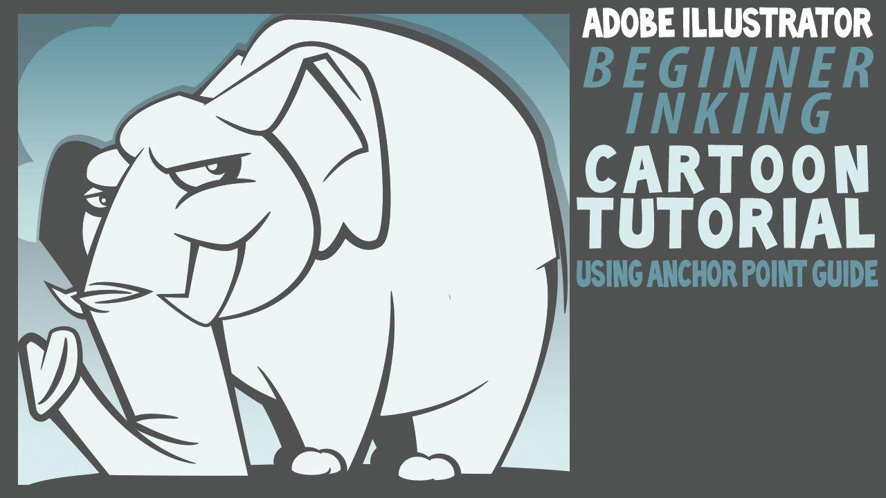 Adobe Illustrator Tutorial for Beginners: Elephant