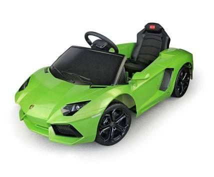 Lamborghini Aventador Kids 6v Electric Ride On Toy Car W Parent
