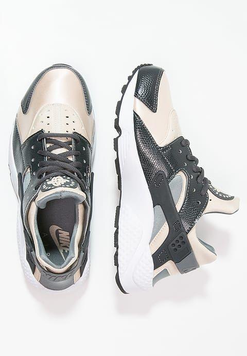 low RUN Sportswear AIR Nike HUARACHE anthracite Sneaker nOPwZ80kNX