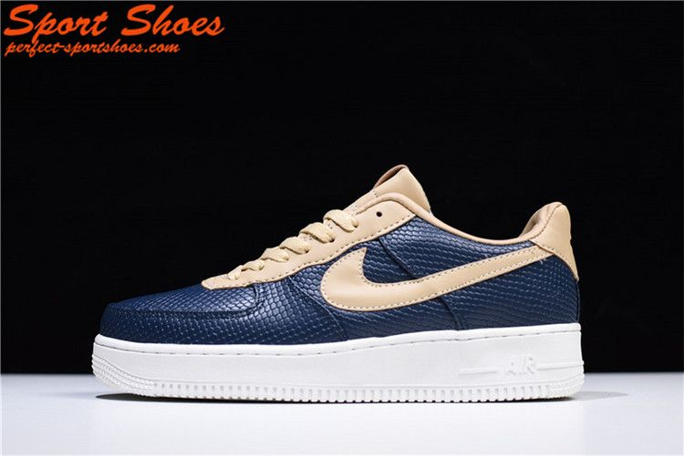 Discount Nike Air Force 1 07 LV8 Low New Mens Casual Shoes Navy 596728-032 1954562ef