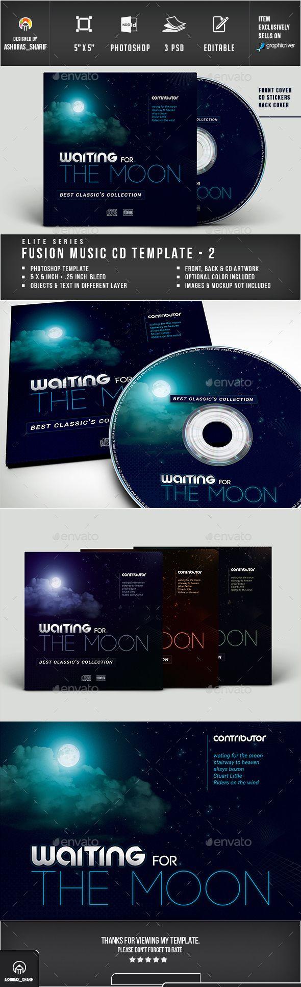 CD Cover   Cd cover, Cd cover template and Template