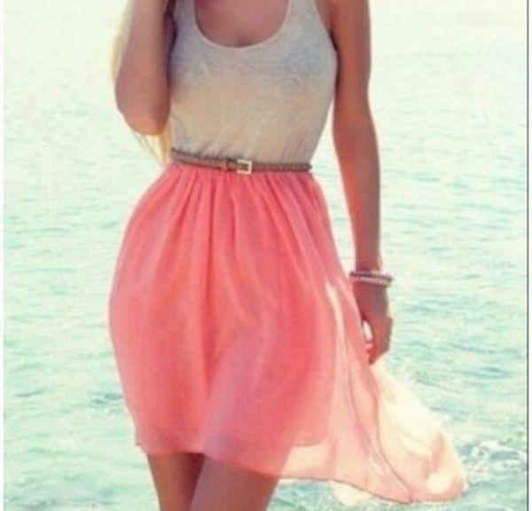 Skirt | Summer, Summer beach dresses and Beaches