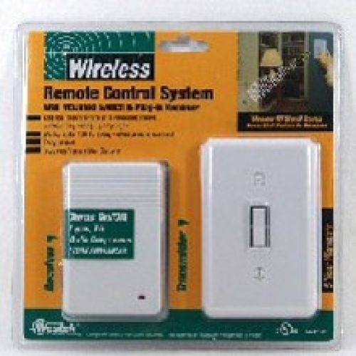 pretty nice af245 d11e3 Westek® Wireless Wall Mounted Switch & Receiver (RFK100LC ...