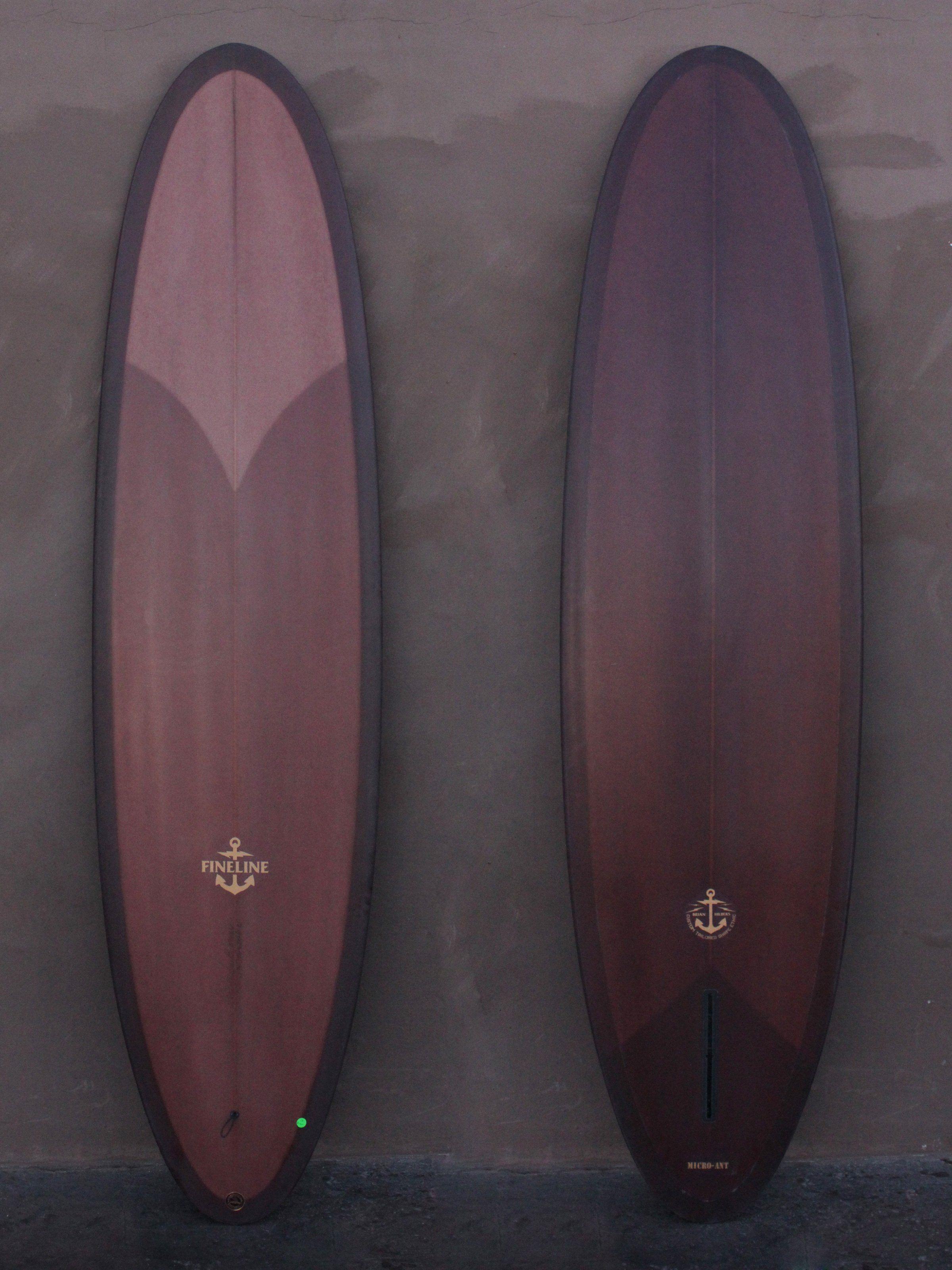 7 6 Fineline Micro Ant Iii Surfboard Surfboards Artwork Wood Surfboard