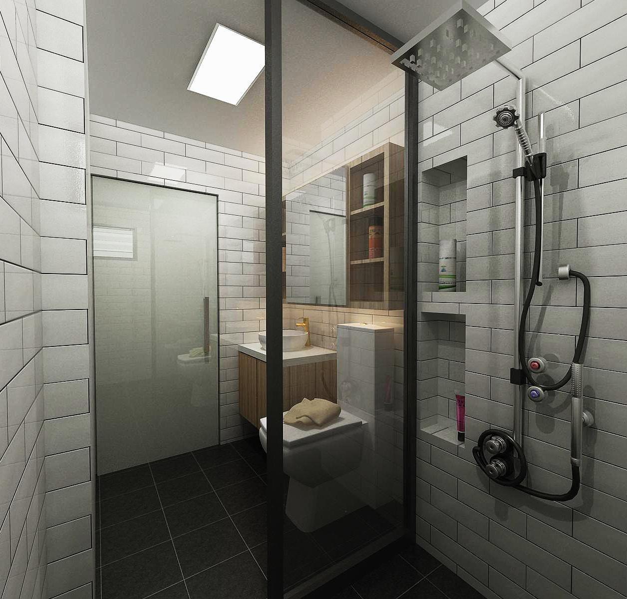 A Scandustrial Concept Sengkang Ea Reno T Blog Chat Resort Bathroom Home Deco Inspired Homes Famous concept bathroom ideas