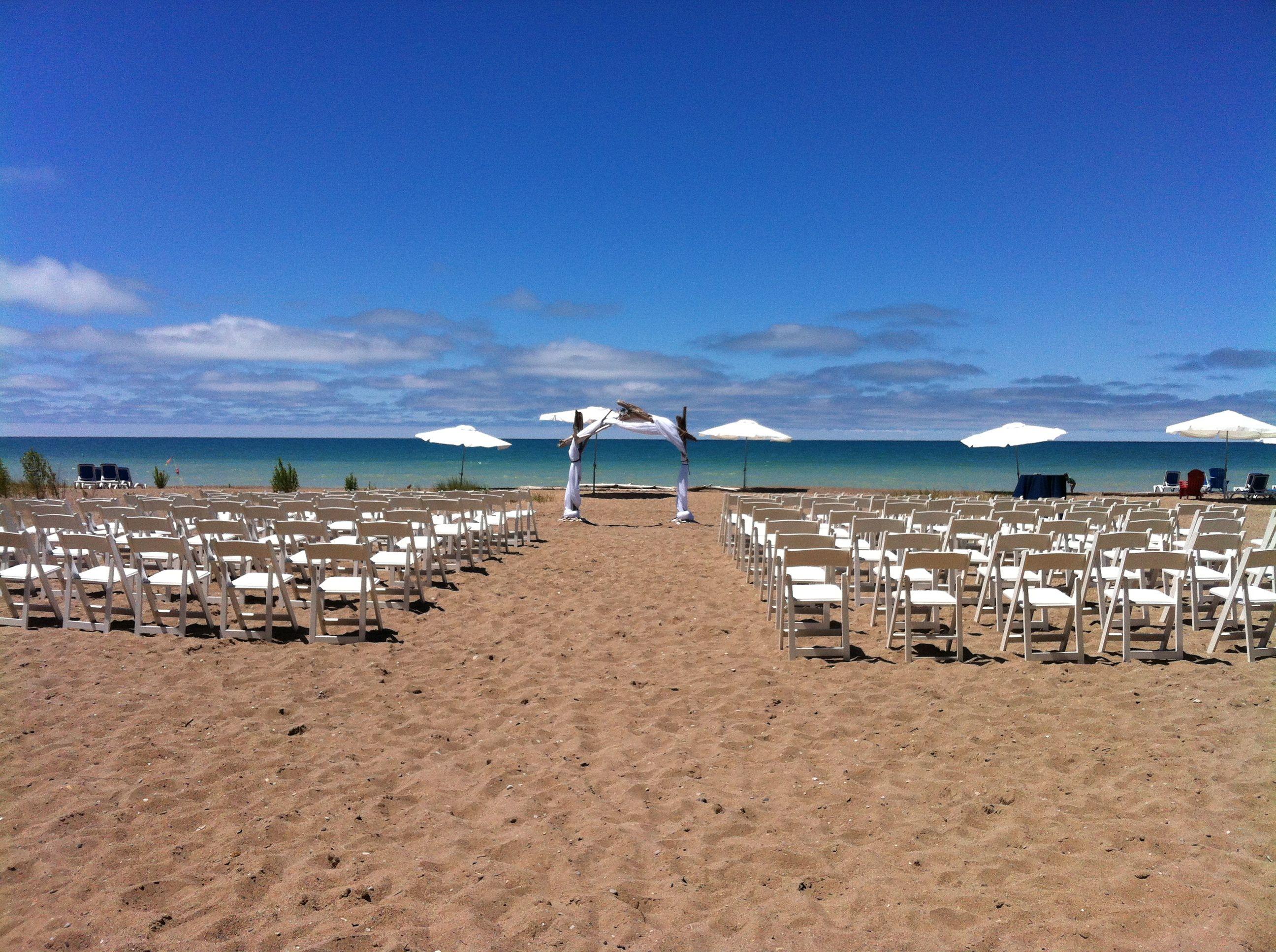 Bayfield Ontario - Beach Wedding Deer Park Lodge Resort