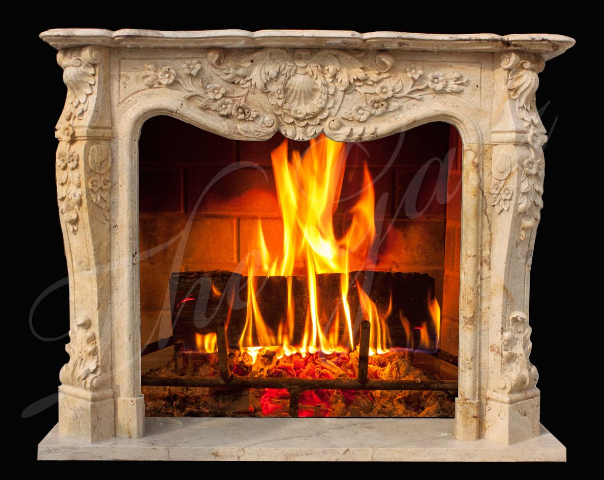 Fireplace accessories · Hand Carved Louis XVI French Marble Fireplace Mantel  ... b91cbf78b8
