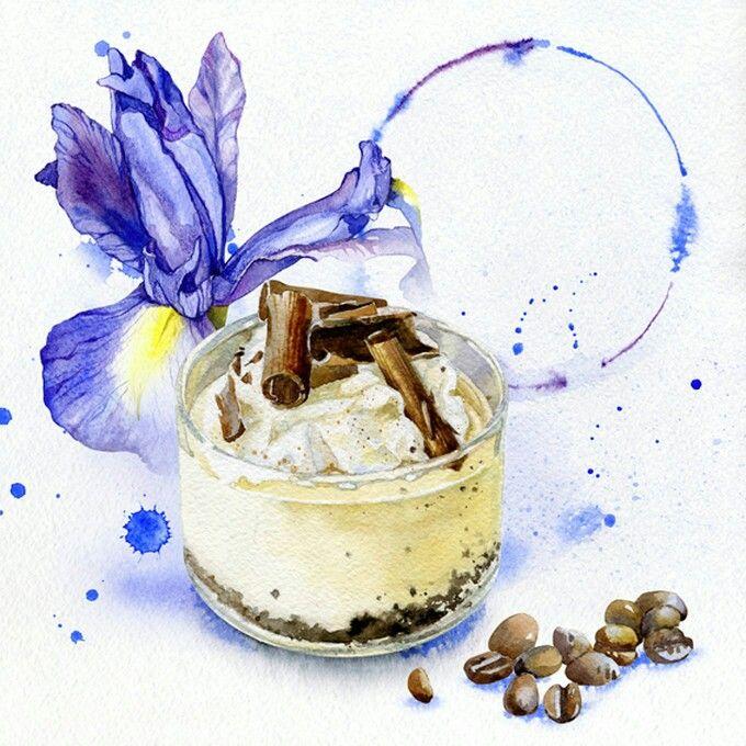 Olga Moskaleva : Iris & coffee
