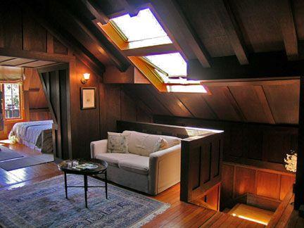 Baha Gifford Mcgrew House Attic Renovation Small Attic Room Attic Rooms
