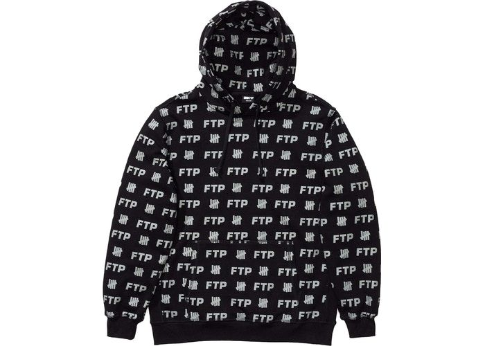 5d846c9a Buy and sell authentic FTP streetwear on StockX including the FTP x  Undefeated All Over Hoodie Black from FW18.