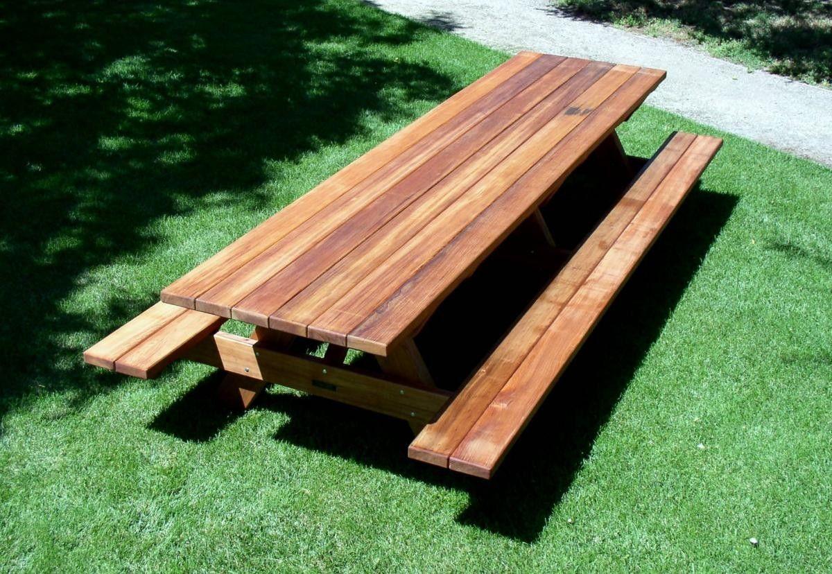 Woodwork Large Picnic Table Plans Pdf Plans Diy Picnic Table