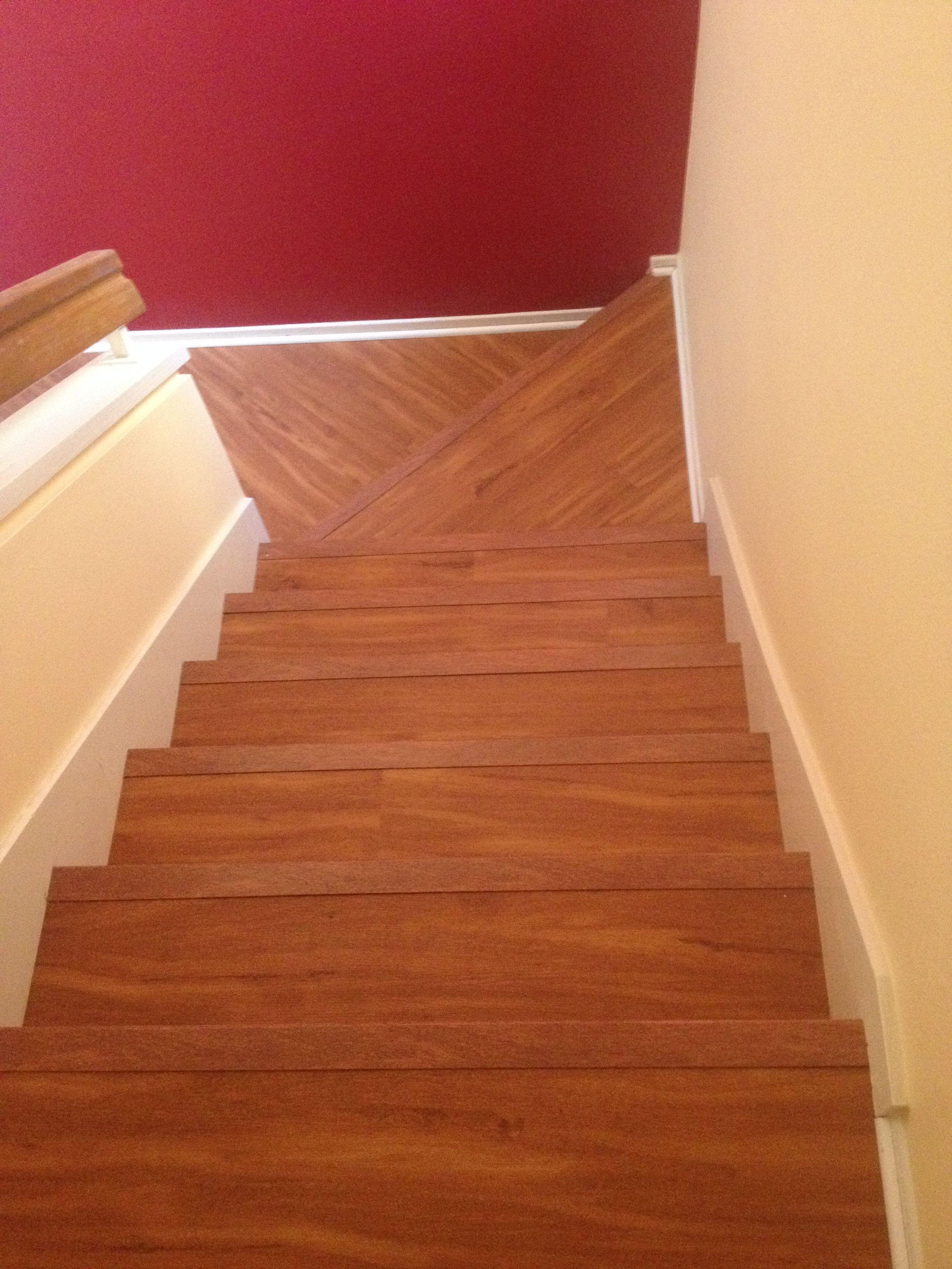 Karndean LVT plank floor installed for a client in Irvine CA Used