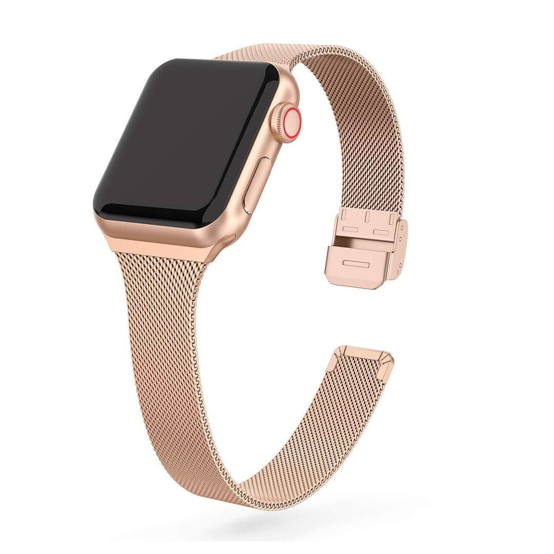 Premium Thin Stainless Steel Mesh Band For Apple Watch Apple Watch Bands Watch Bands Rose Gold Apple Watch
