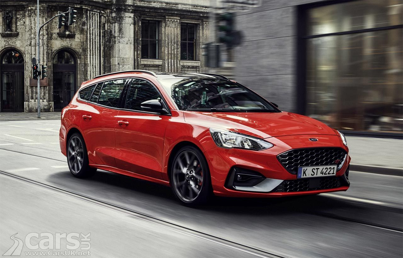 This Is The New Ford Focus St Estate Or Wagon As Ford Insists