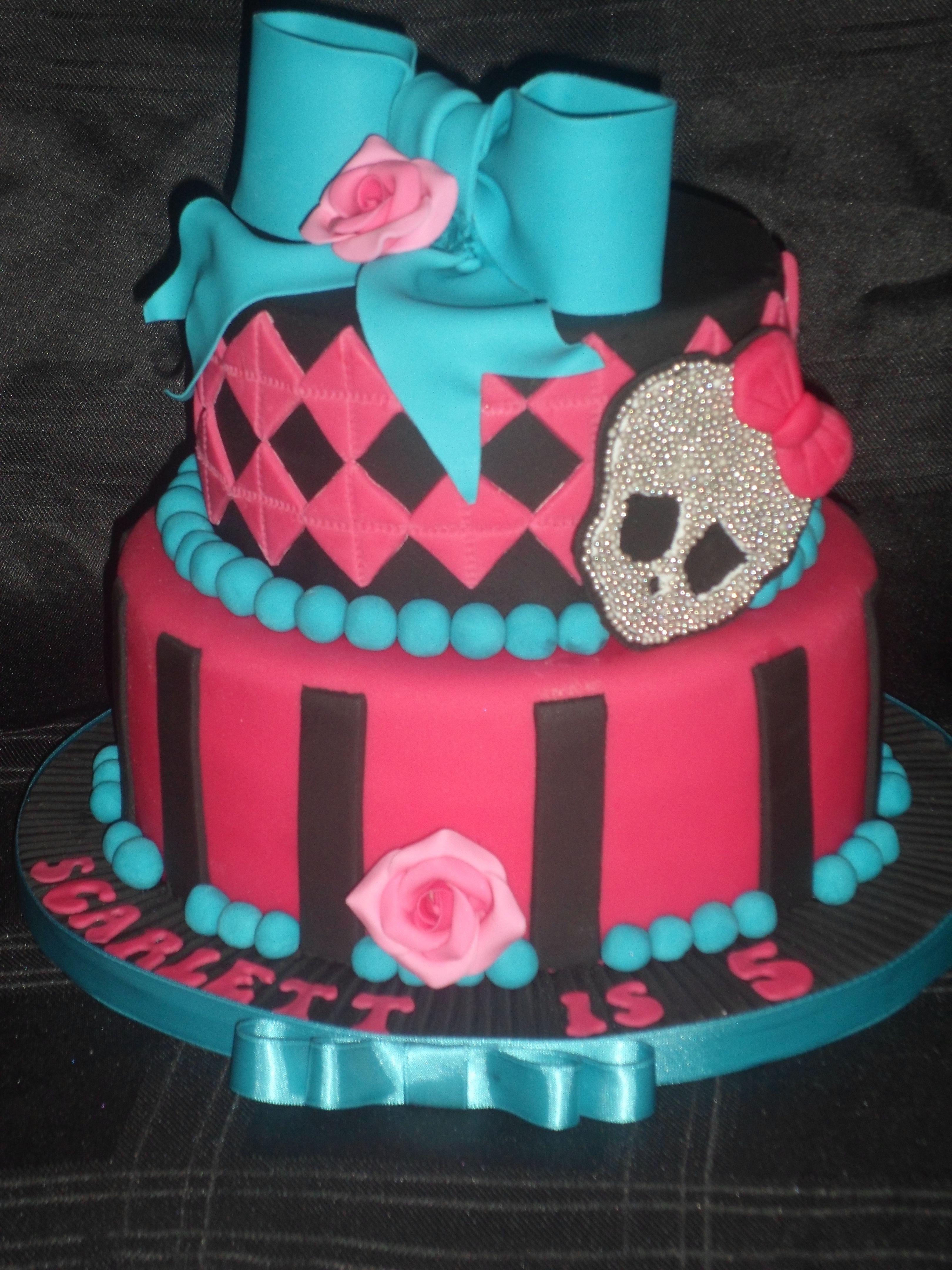 Monster High cake :)